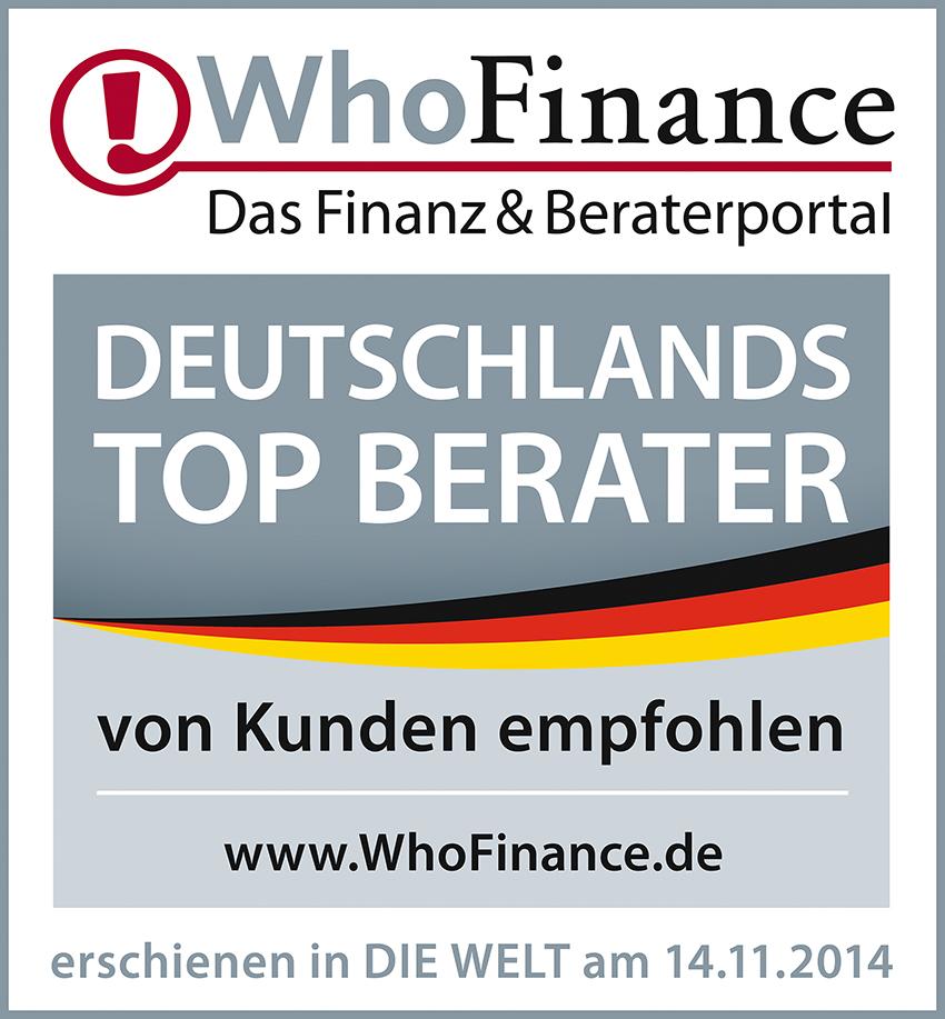 beste Finanzberater Deutschlands