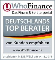 Top Berater Baufinanzierung und Bausparen 2014 DPF Christian Schneider