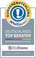 Top Berater Baufinanzierung und Bausparen 2015 Christian Schneider DPF