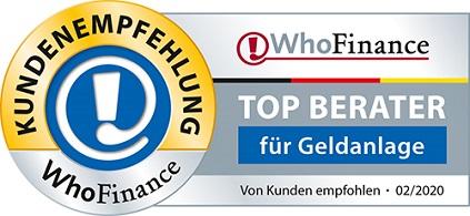 TOP Berater für Geldanlage 2020 Christian Schneider
