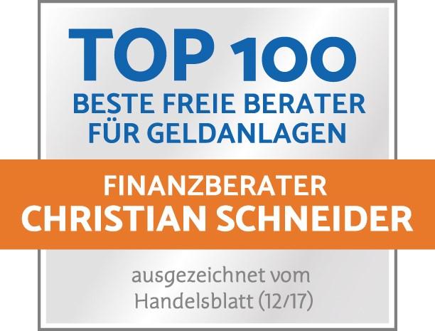 TOP 100 Anlageberater Ratingen Düsseldorf ETF DPF Christian Schneider